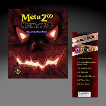 Metazoo Nightfall 1st Ed Spellbook Sealed Case (50% Deposit) (Earlybird Preorder)