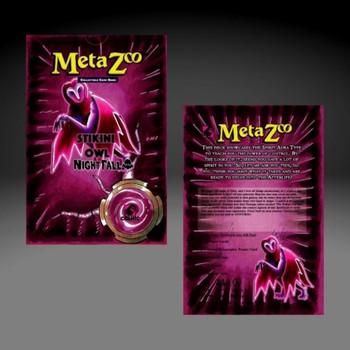 Metazoo Nightfall 1st Ed Theme Deck Set (Earlybird Preorder)