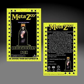 Metazoo Nightfall 1st Ed Release Deck Sealed Box (Earlybird Preorder)