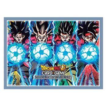 Dragonball Super Official Sleeves (Super Saiyan 4)