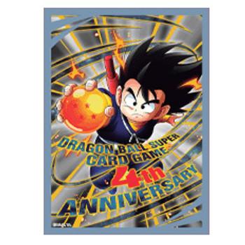 Dragonball Super Official Sleeves (Anniversary Goku)