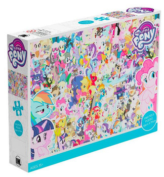 Impact Puzzle My Little Pony Characters Puzzle 1,000 pieces