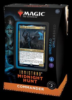 MTG Innistrad: Midnight Hunt Commander Deck (Undead Unleashed)