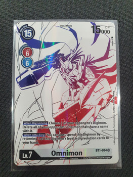 BT01-084SR Omnimon (Alternate Art)