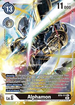 BT06-111SEC Alphamon