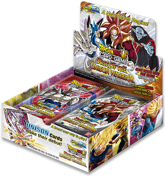 Dragonball Super BT-10 Rise of the Unison Warrior Booster Box Case (2nd Ed)