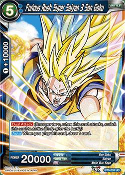 BT03-035UC Furious Rush Super Saiyan 3 Son Goku Foil