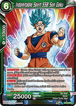 BT03-059C Indomitable Spirit SSB Son Goku Foil