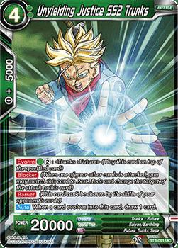 BT03-061UC Unyielding Justice SS2 Trunks Foil