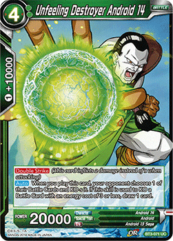 BT03-071UC Unfeeling Destroyer Android 14 Foil