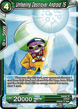 BT03-073UC Unfeeling Destroyer Android 15 Foil