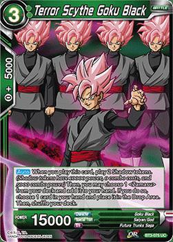 BT03-075UC Terror Scythe Goku Black Foil