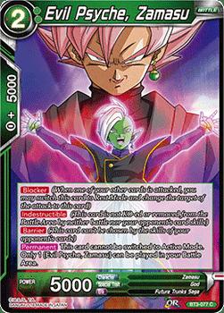 BT03-077C Evil Psyche, Zamasu Foil