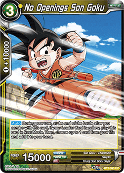 BT03-090UC No Openings Son Goku Foil