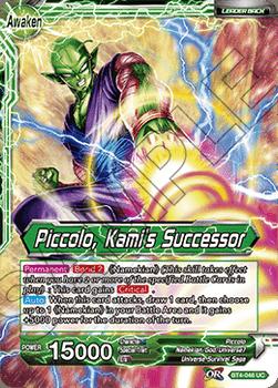 BT04-046UC Piccolo, Kami's Successor Foil