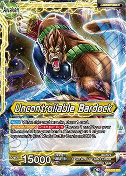 BT04-071UC Uncontrollable Bardock Foil