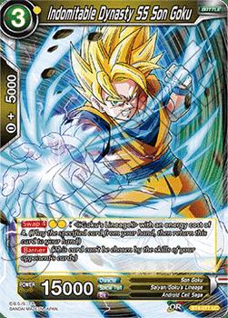 BT04-077UC Indomitable Dynasty SS Son Goku Foil