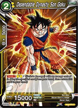 BT04-078C Dependable Dynasty Son Goku Foil