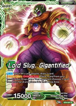 BT4-047R Lord Slug, Gigantified Oversize