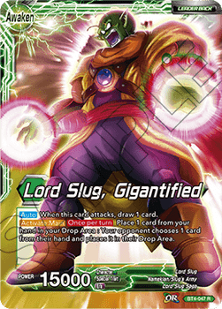 BT04-047R Lord Slug, Gigantified Oversize
