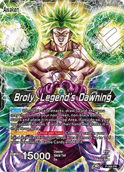 P-068P Broly, Legend's Dawning