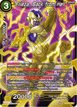BT05-091SR Frieza, Back from Hell