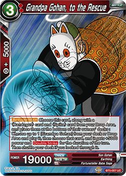 BT05-007UC Grandpa Gohan, to the Rescue Foil