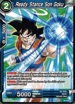 BT05-028C Ready Stance Son Goku Foil