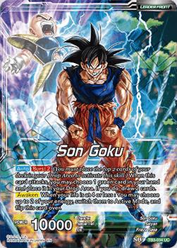 TB3-034U Son Goku, The Legendary Super Saiyan Foil