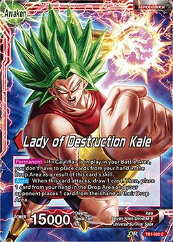 TB1-002C Lady of Destruction of Kale Foil