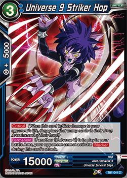 TB1-041C Universe 9 Striker Hop Foil