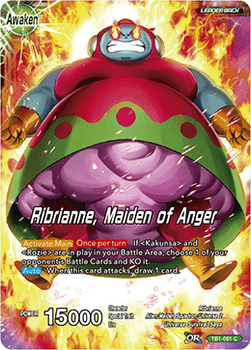 TB1-051C Ribrianne, Maiden of Anger Foil