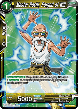 TB1-076U Master Roshi, Forged of Will Foil