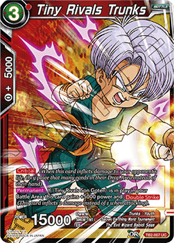 TB2-007U Tiny Rivals Trunks Foil