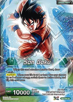 TB2-034U Stopping Power Son Goku Foil