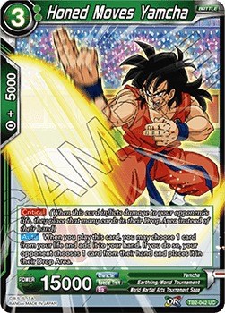 TB2-042U Honed Moves Yamcha Foil