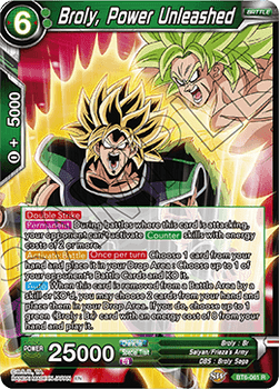 BT06-061R Broly, Power Unleashed