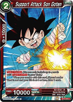 BT06-006C Support Attack Son Goten Foil