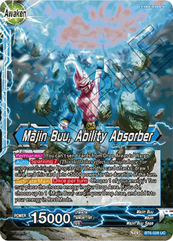 BT06-028U Majin Buu, Ability Absorber Foil