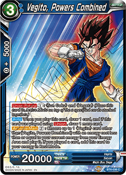 BT06-036C Vegito, Powers Combined Foil
