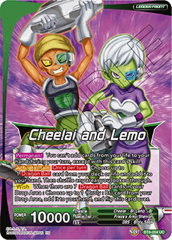 BT06-054U Cheelai and Lemo, the Kindhearted Foil