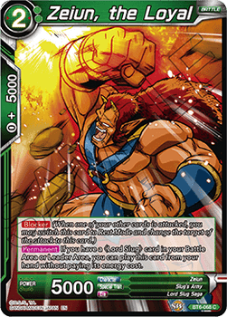 BT06-068C Zeiun, the Loyal Foil