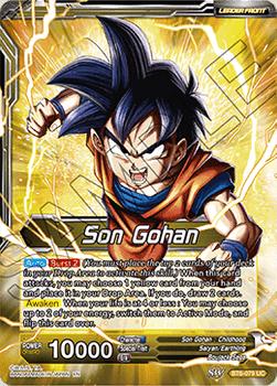 BT06-079U Untapped Power SS2 Son Gohan Foil
