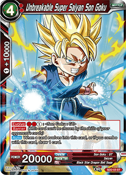 SD2-03ST Unbreakable Super Saiyan Son Goku