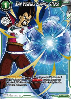 BT01-079UC King Vegeta's Surprise Attack (Alt Art)
