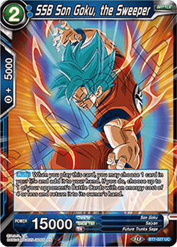 BT07-027UC SSB Son Goku, the Sweeper Foil