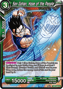 BT07-054C Son Gohan, Hope of the People Foil