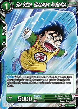 BT07-055UC Son Gohan, Momentary Awakening Foil