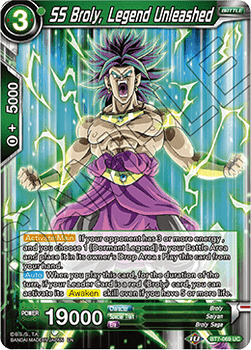 BT07-069UC SS Broly, Legend Unleashed Foil