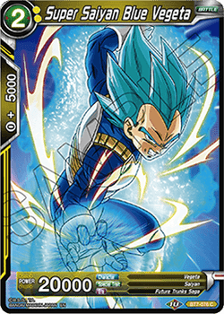 BT07-076C Super Saiyan Blue Vegeta Foil